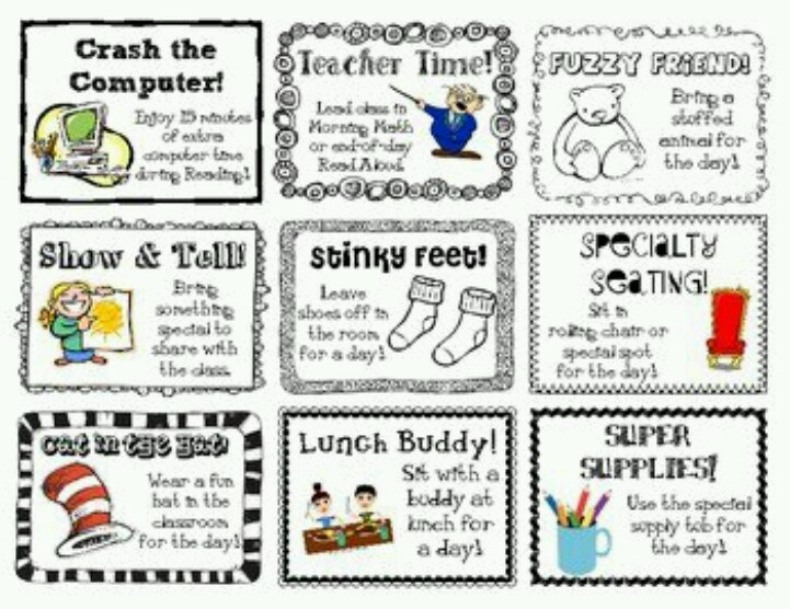 Classroom Reward Ideas Elementary ~ Best images about classroom rewards on pinterest