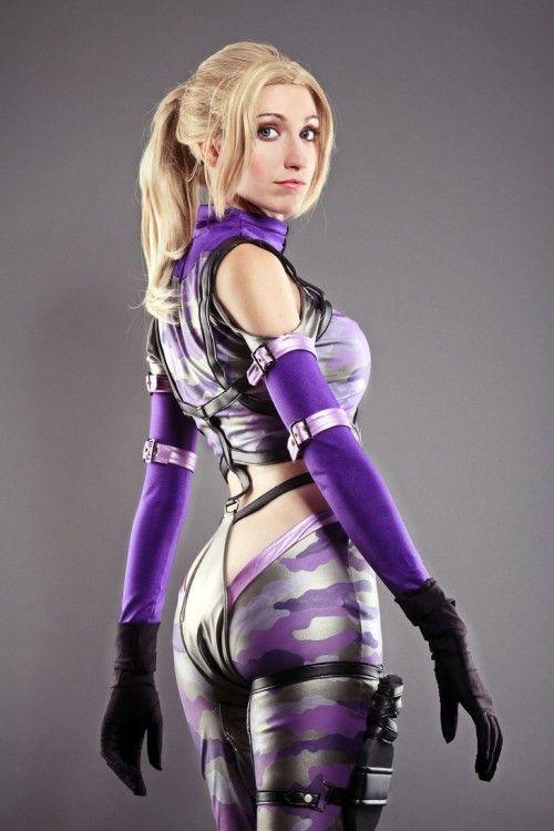 Nina Williams, (Tekken), Cosplay by: Nebulaluben