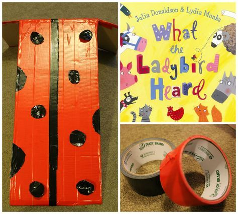 World Book Day Costume Ideas with Duck Tape | The Mini Mes and Me. Ladybird