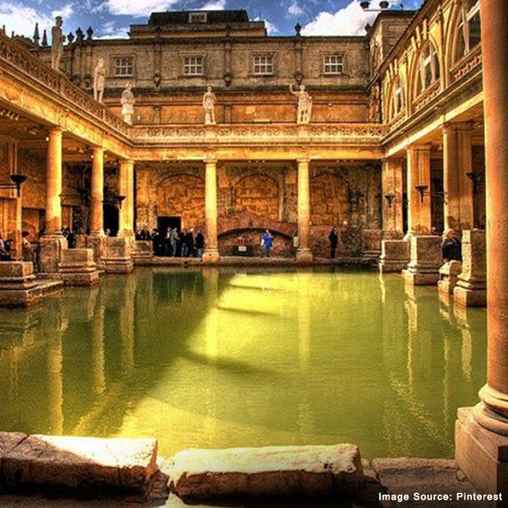 Did You Know? The royal Roman Baths built in the 19th Century in England is open for public bathing too!