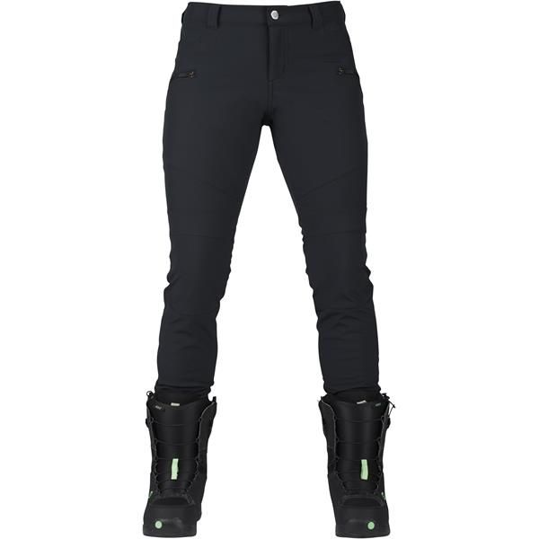 In-boot styling and tricked out performance for when the only thing tighter than your turns is your style. Fit to be worn tucked inside your snowboard boots, the women's Burton Ivy Pant has a super slim fit that transitions seamlessly from mountain to après. Waterproof/breathable DRYRIDE Durashell™ 3L stretch fabric is lightweight and sleek, while the fleece lining works overtime to keep you warm and dry. Seal the deal with dual zippered pockets that safely stash your phone,...