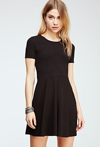 Fit & Flare Tee Dress   FOREVER21 - 2000136780