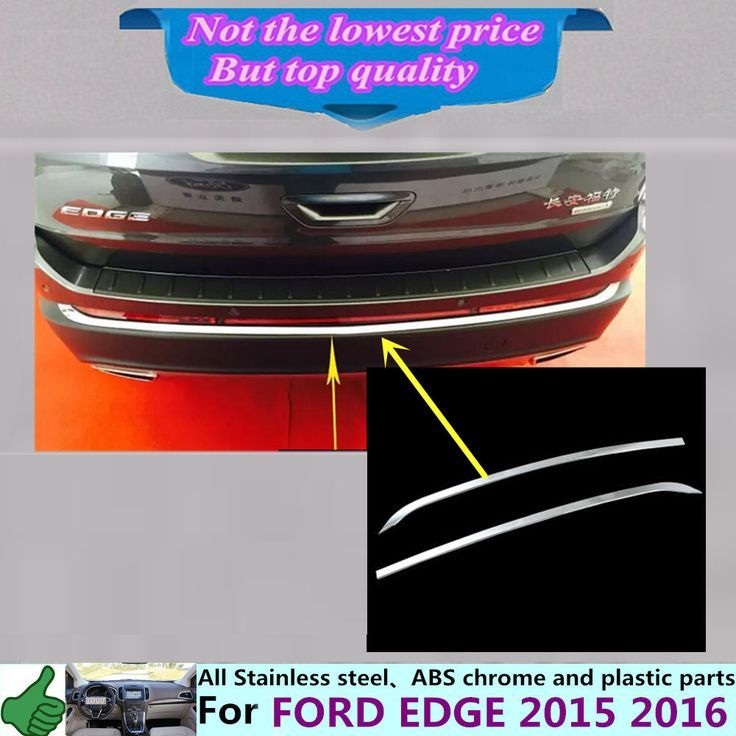 Awesome Ford: ==>  Buy Best Car body cover protection Bumper ABS chrome trim...  Wholesale Check more at http://24car.top/2017/2017/07/11/ford-free-shipping-buy-best-car-body-cover-protection-bumper-abs-chrome-trim-wholesale/