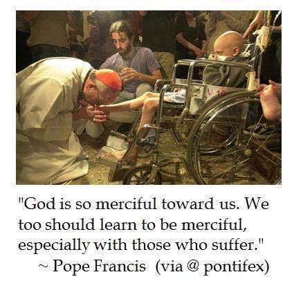 Pope Francis on Mercy #quotes #PopeFrancis #Catholic