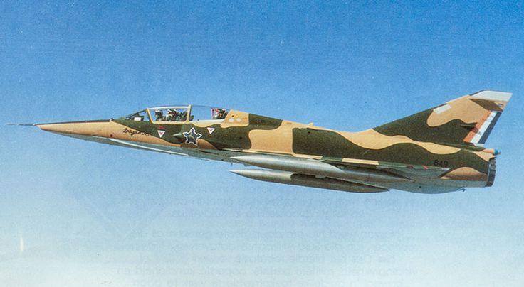 Mirage IIID2Z #849  Source: The SADF Yearbook - 1986