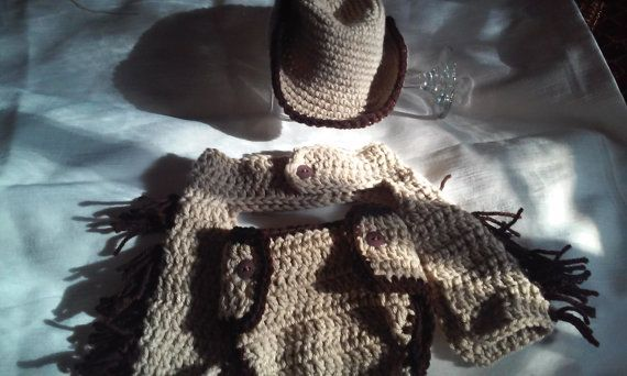Check out this item in my Etsy shop https://www.etsy.com/listing/213202382/crochet-cowboy-diaper-set-3pc-crochet