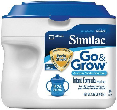 Similac Go & Grow Milk Based Formula, Powder, 22-Ounces Kids, Infant, Child, Baby Products by Similac   Brand New Read  more http://shopkids.ca/similac-go-grow-milk-based-formula-powder-22-ounces-kids-infant-child-baby-products-by-similac/
