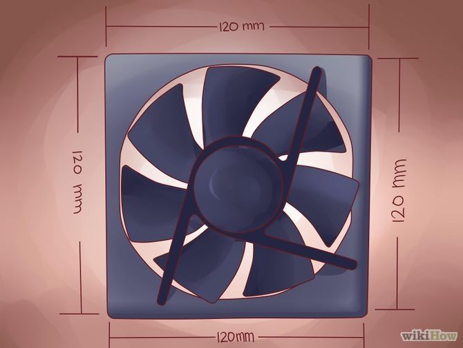 How to Install a Desktop Computer Fan via wikiHow.com #technology #tech