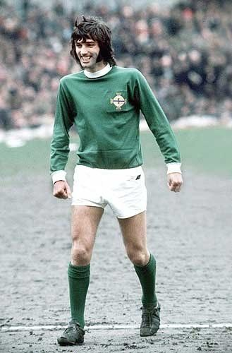 George Best - Northern Ireland footballer, who played for Northern Ireland and Manchester United