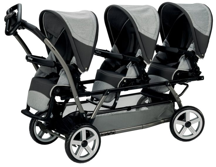 Triple Stroller, Great Choice to Take Three Kids With You