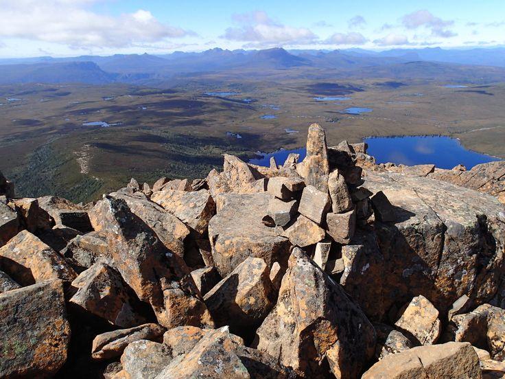 View from Barn Bluff, Overland Track, Tasmania