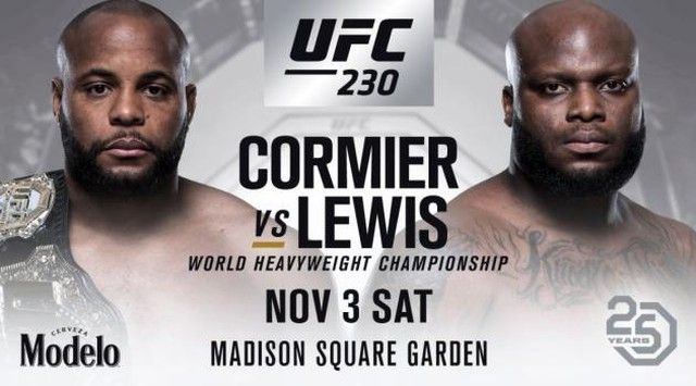 Don T Miss Ufc 230 On Saturday Check Out The Main Card Now
