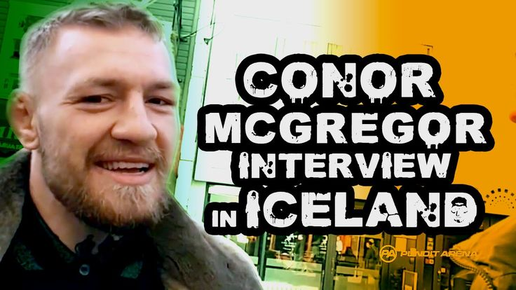 Interview with Conor McGregor ahead of Nate Diaz Fight at UFC 202