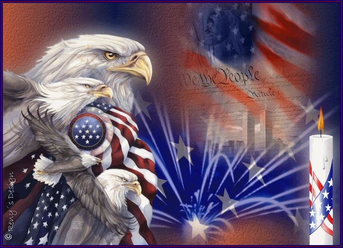 July 4th is here... Celebrate the birthday of America with family, friends and loved ones. Happy Fourth of July!