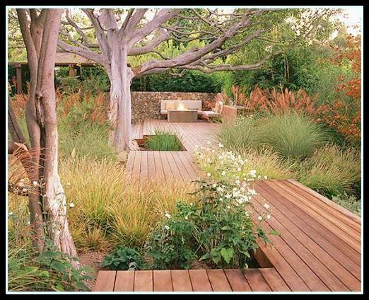 17 b sta id er om modelos de jardines peque os p - Disenos de jardines rusticos ...