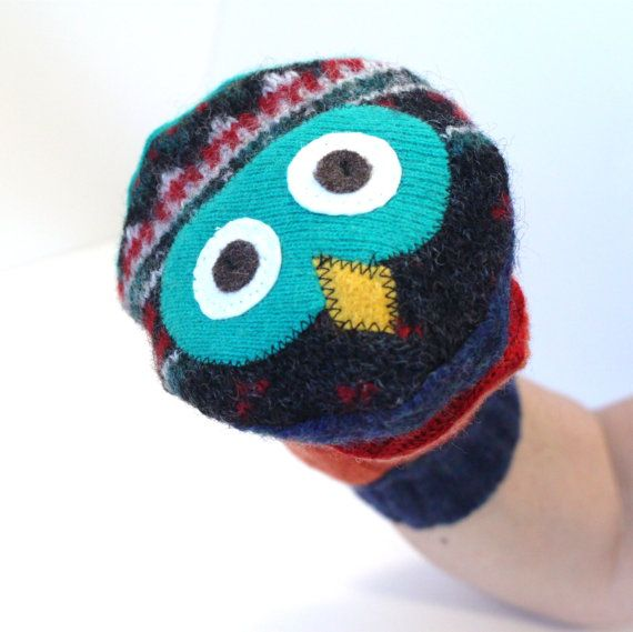 Handmade Hand Puppets!