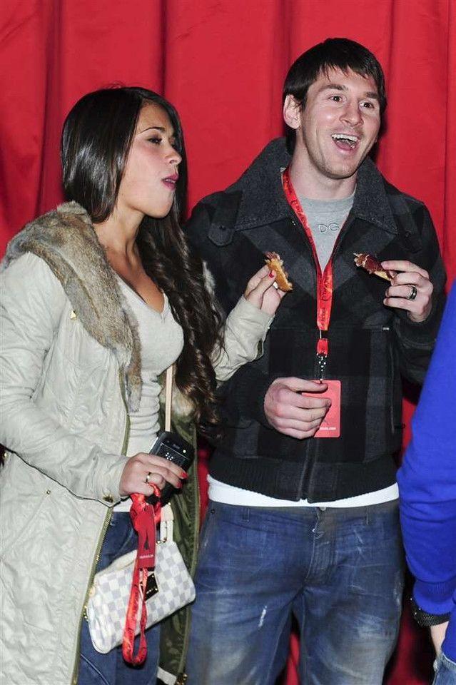 Messi i Antonella Rocuzzo