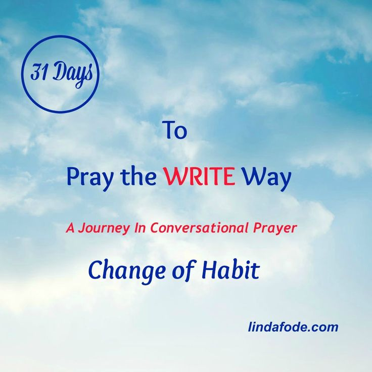 CHOOSING TO TALK TO GOD