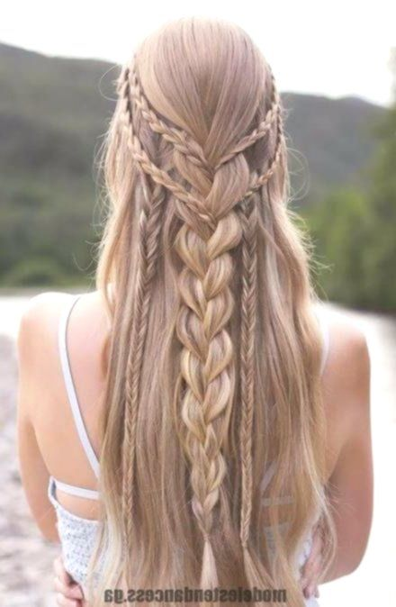 68 Concepts wedding ceremony hairstyles half up half down bohemian boho braid