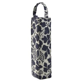 Organic Cotton :: Wine Bags :: Wine Bag Padded - Prada Indigo