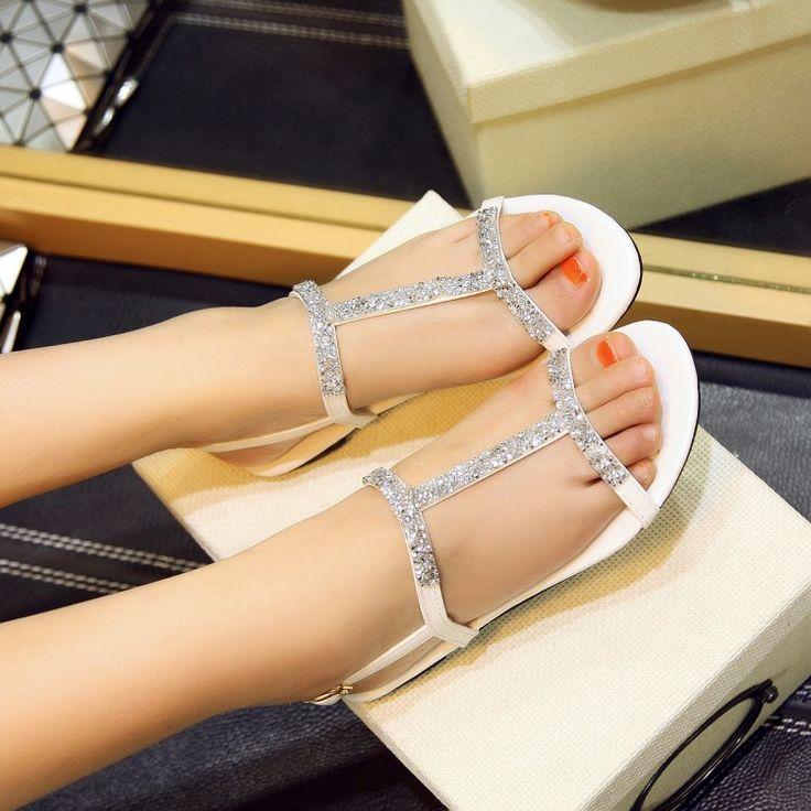 Обувь женщины сандалии платформа сандалии sapato feminino лето стиль лето обувь chaussure роковой купить на AliExpress