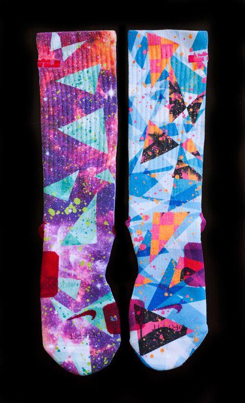 The Most Wanted Custom Nike Elite Socks - Thesockgame.com — LIMITED!! What the LeBrons/MVP - Custom Nike Elite Socks