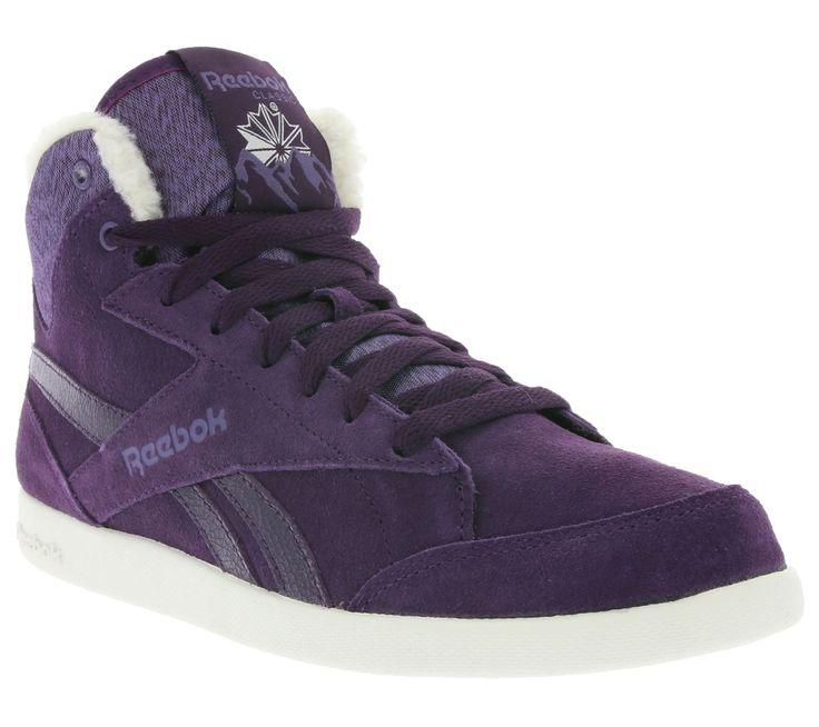 Reebok Classic Fabulista Mid II Alpine Ladies High Top Sneaker Violet M49217