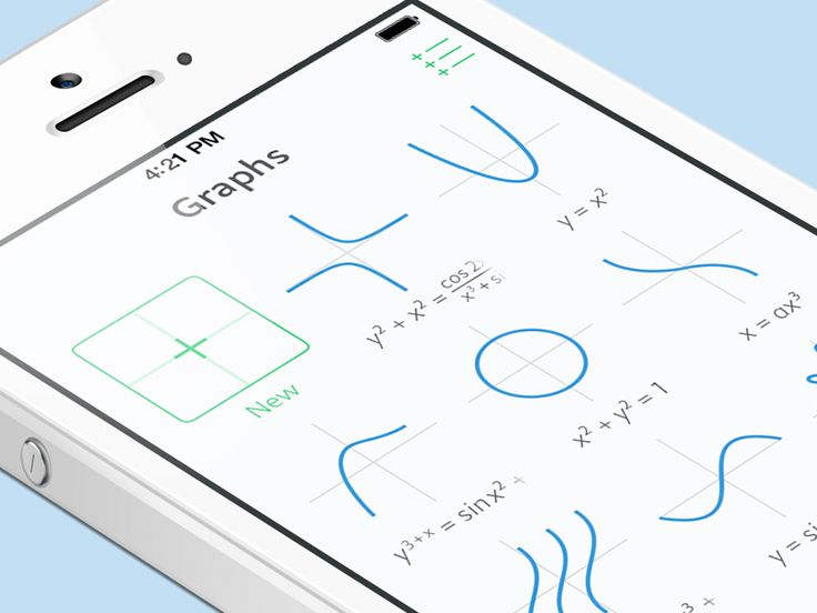 Graphs (iOS App Design)