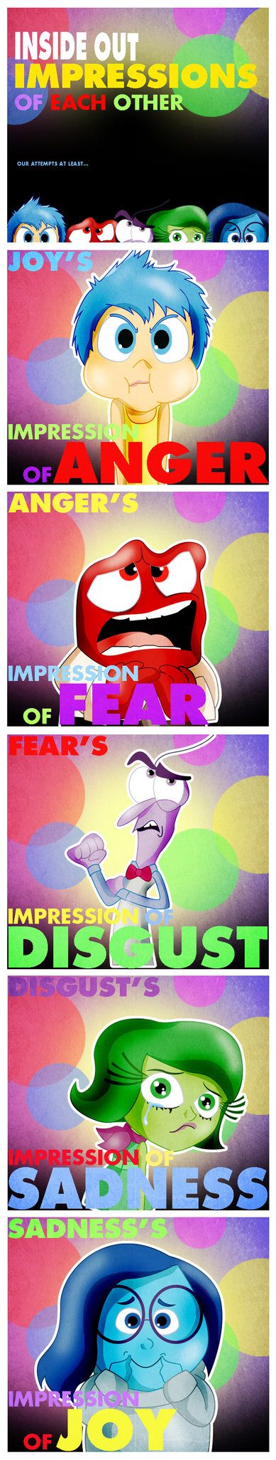 Inside Out Impressions of Each Other by xeternalflamebryx