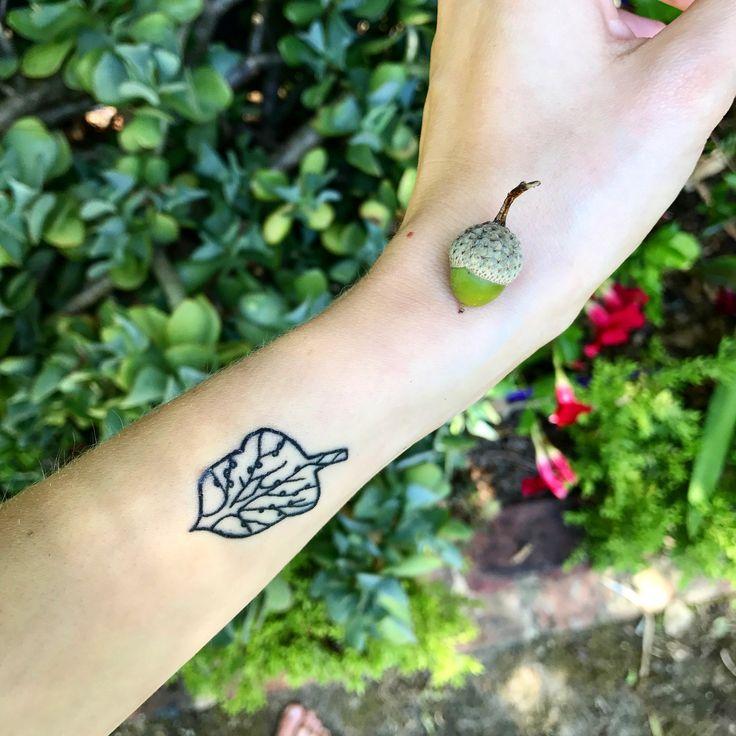 My acorn tattoo and an acorn