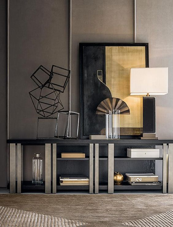 From white console tables to glass styles and oak console tables, here you'll find the perfect inspiration for your design projects | Modern Console Tables | Design Inspiration | Luxury Interiors | www.bocadolobo.com #bocadolobo #luxuryfurniture #exclusiv