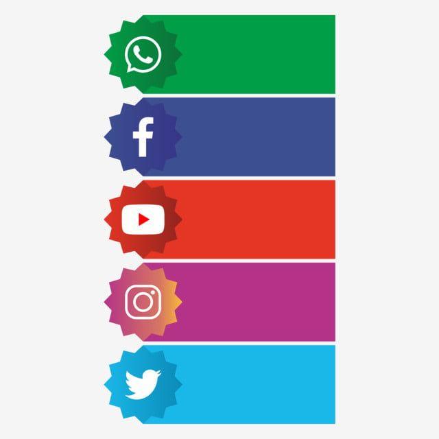 Banner De Redes Sociales Png Logotipo De Youtube Plantillas De Infografias Gratis Simbolos De Redes Sociales