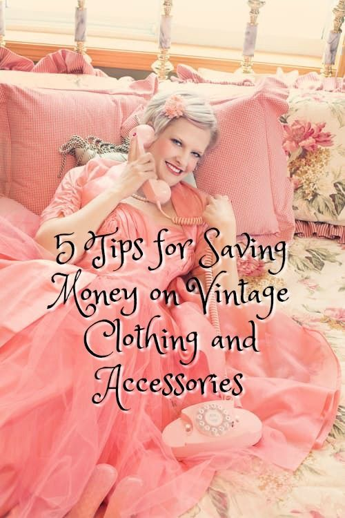 Everything old is new, and vintage styles are no exception. Of course, vintage is kind of a relative term, but let's just say it accounts for any era of clothing and accessory styles that occurred before your date of birth. #vintagestyle #vintagefashion #vintage #savemoney
