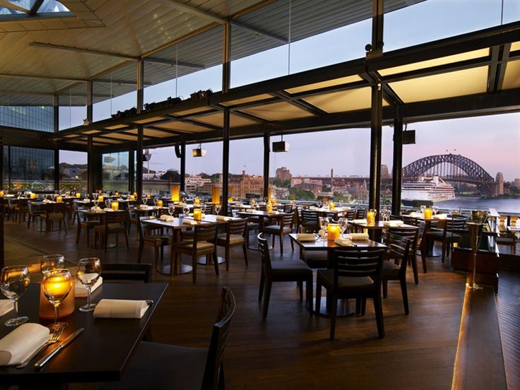 Visit Cafe Sydney located on the roof top of Customs House at Circular Quay.  Here you can dine with beautiful harbour views.
