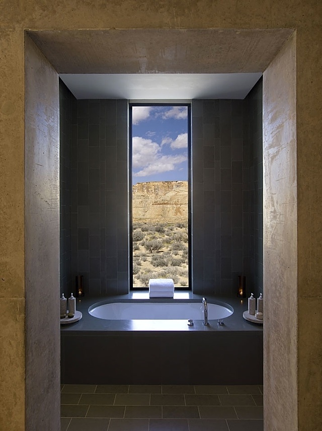 View of the desert [Hotel Amangiri Resort - Canyon Point, USA]
