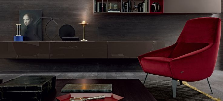 #Warmth, #heat, #fun and #color #Eurocasa #Spaces are inspired with pops of #red #cerise, #Orange, #yellow and #Ocher this winter