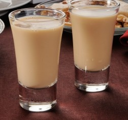 Zoo Station:  Amaretto, coffee liqueur, Irish cream, banana liqueur and cream!  (from mixthatdrink.com)