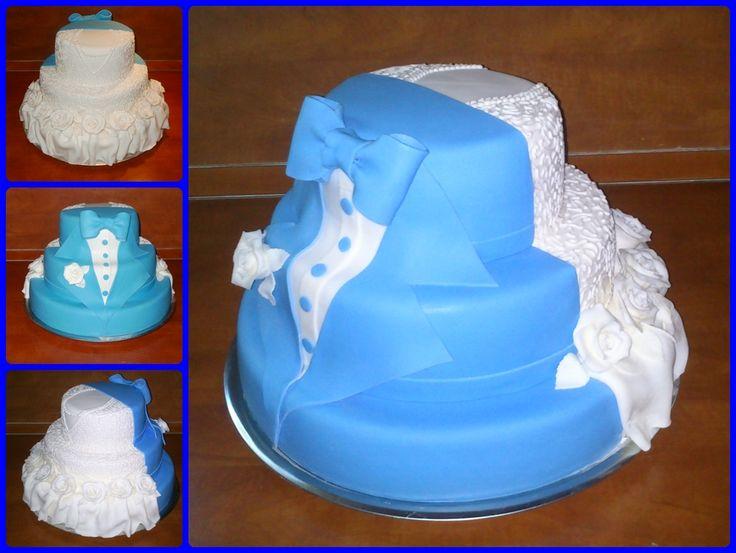 Wedding cake - Esküvői torta