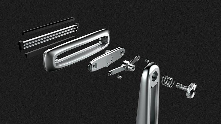 Mr Beard - Portable razor on Behance