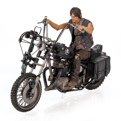 Walking Dead Daryl Dixon and Motorcycle Deluxe Box Set