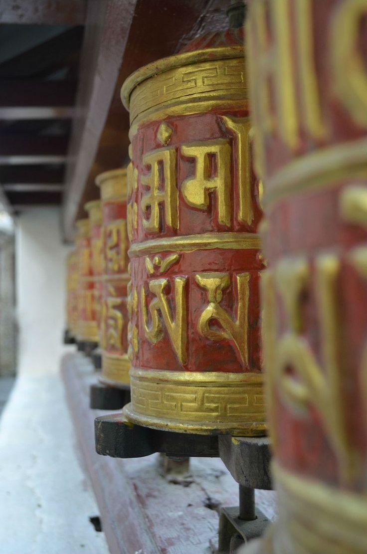Молитвенные барабанчики.  Вокруг Аннапурны, Hikeup