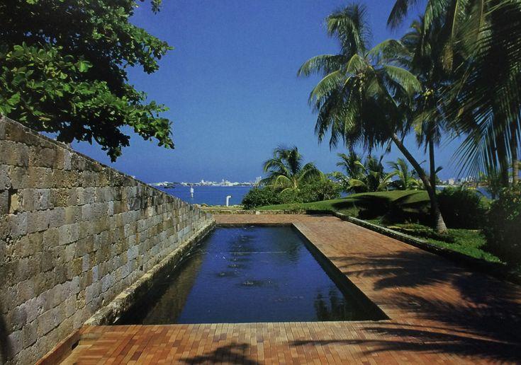 Casa presidencial del Fuerte San Juan de Manzanillo, Cartagena, Colombia - Rogelio Salmona - © Ricardo L. Castro