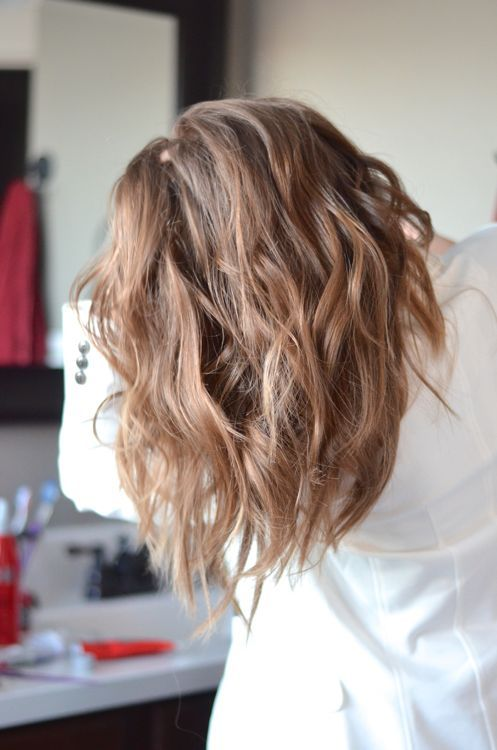 How to style beach waves