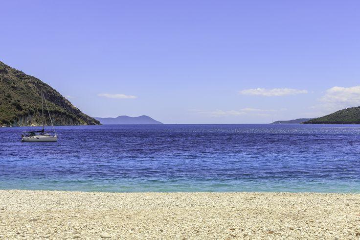 Paradisaical beach on Lefkada, the Ionian Islands, Greece   The Thinking Traveller