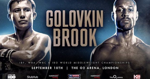 Gennady Golovkin vs Kell Brook HBO Fight