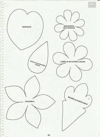 Resultado de imagen para flores de eva passo a passo orquidea