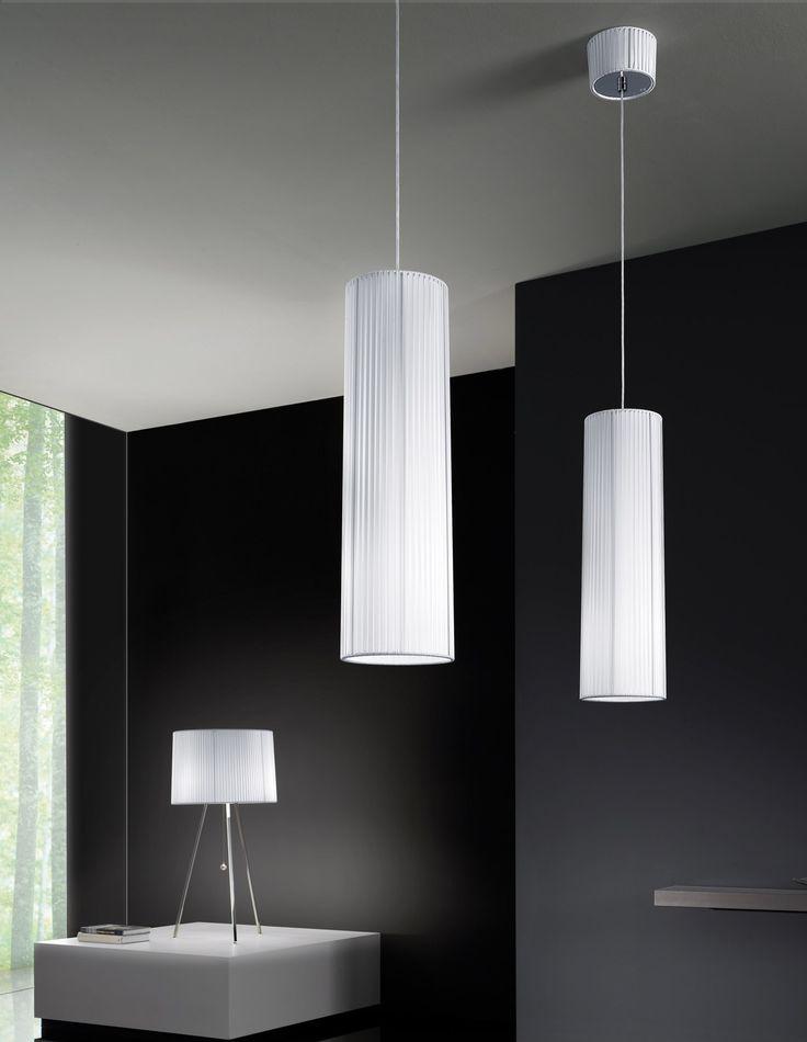 Lampada a sospensione in tessuto OBI Linea Axo Light by