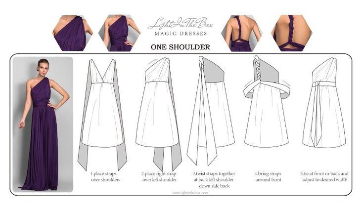 Платье - Виноградный Платье-чехол На одно плечо/Без лямок/V-образный Длина до пола ДжерсиБольшие размеры /«Песочные часы»/«Груша»/Для - ILS ₪ 326.96