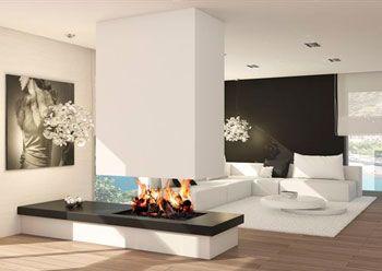 chimeneas chimenea moderna decoracion interior diseo de interiores con estilo salones estufas modernas piso gris