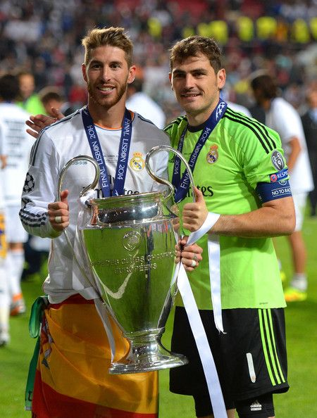 Iker Casillas - Real Madrid v Atletico de Madrid - UEFA Champions League Final